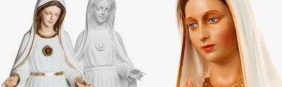 Our Lady of Fatima, statues