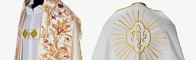 Copes, Roman Chasubles and Dalmatics