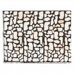 Sfondi presepe, paesaggi e pannelli: Pannello in sughero pietra sfalzata per presepe 24,5x33 cm
