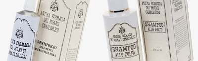 Natural shampoos, shower gels, soaps and toothpastes