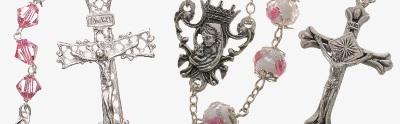 Crystal beads rosaries