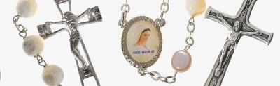 Mother-of-pearl rosaries