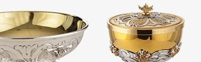 Calices Ciboires Patènes en métal