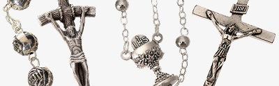 Metal rosaries