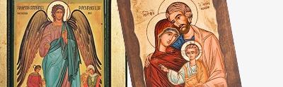 Icone Grecia dipinte e serigrafate