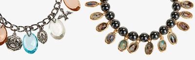 Bracelets avec images en métal