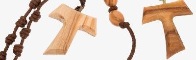 Assisi olive wood rosaries