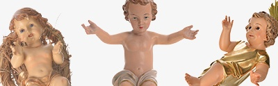 Baby Jesus figurines
