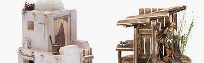 Maisons, milieux, ateliers, puits