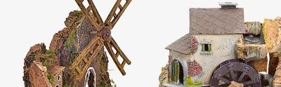 Moulins en miniature